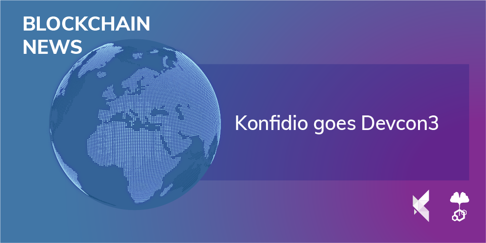 Konfidio goes Devcon3