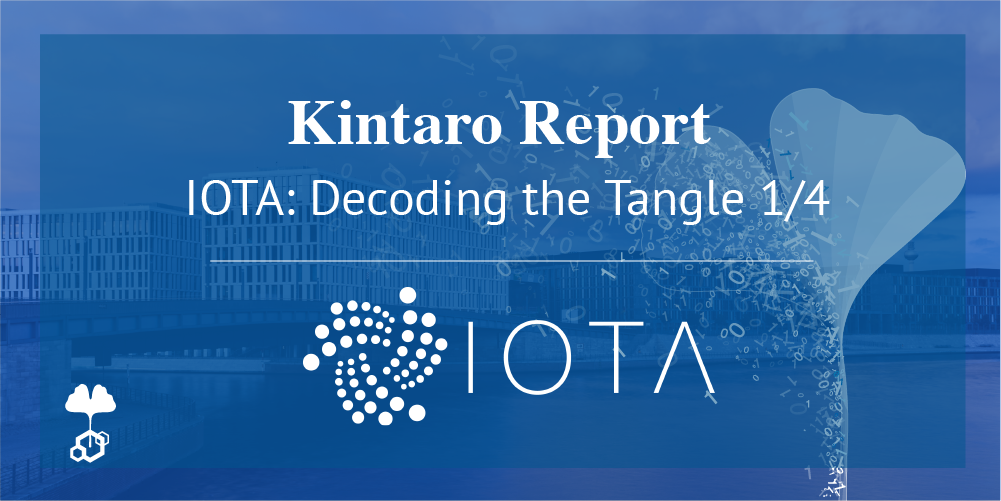 IOTA Report: Decoding the Tangle Part 1