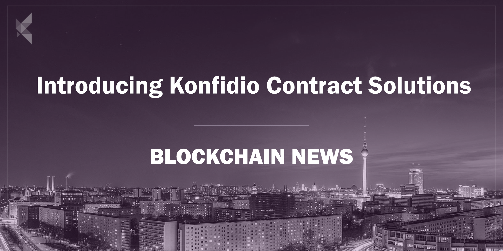 Introducing Konfidio Contract Solutions