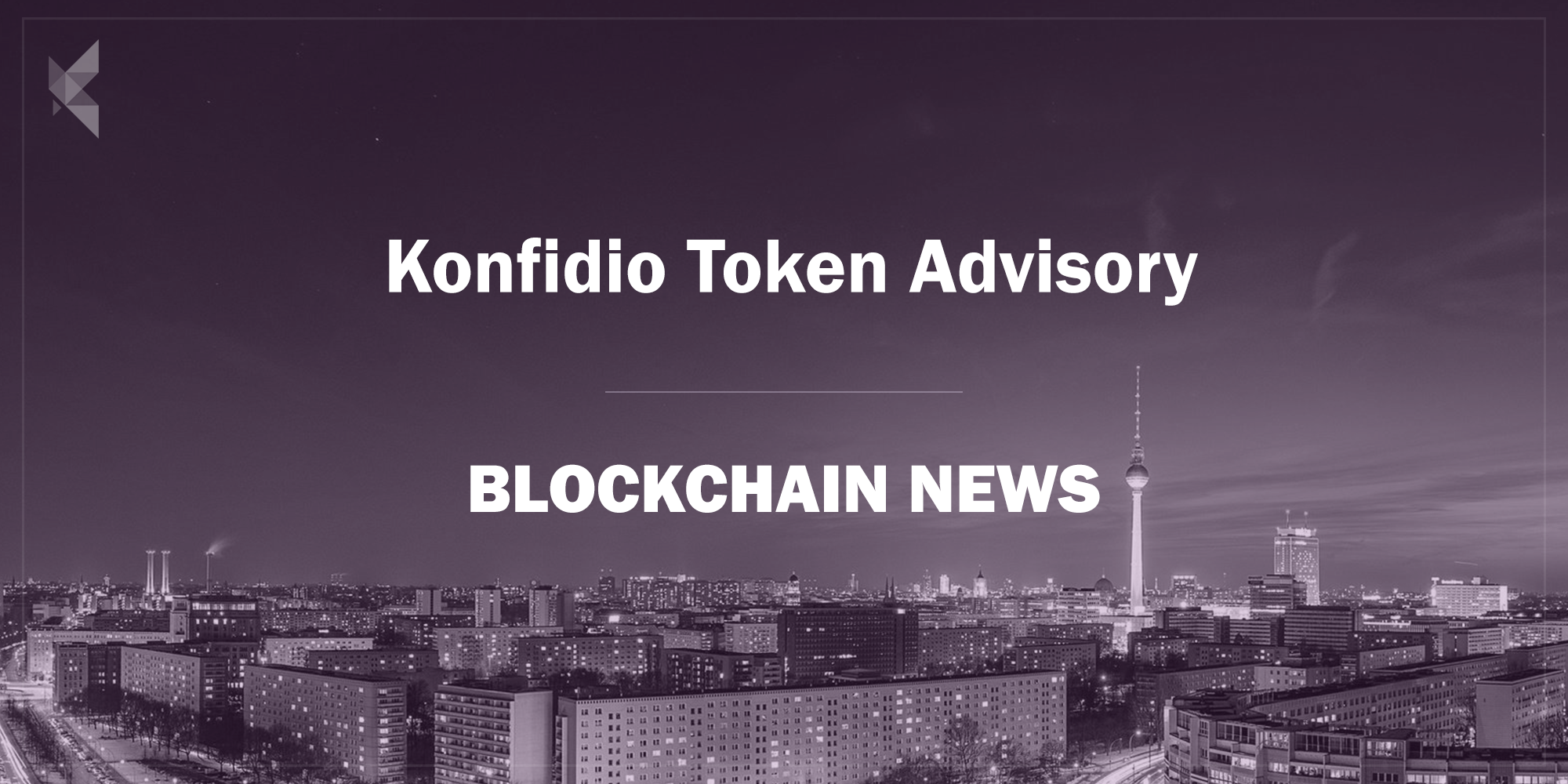 Konfidio ICO & STO Advisory